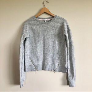 DIADORA Shorter Length Gray Sweatshirt